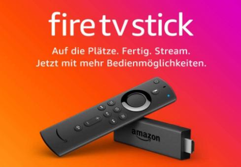 Fire TV Stick mit Alexa Sprachfernbedienung