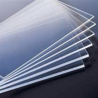 Polycarbonatglas- Platten.