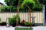 Rosenbogen Barcelona B 1,4m Edelrost